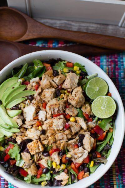 spicy blackened tuna salad | A Southern Fairytale