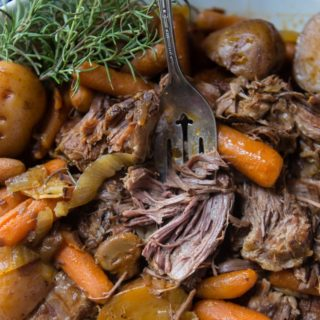easy tender slow cooker pot roast