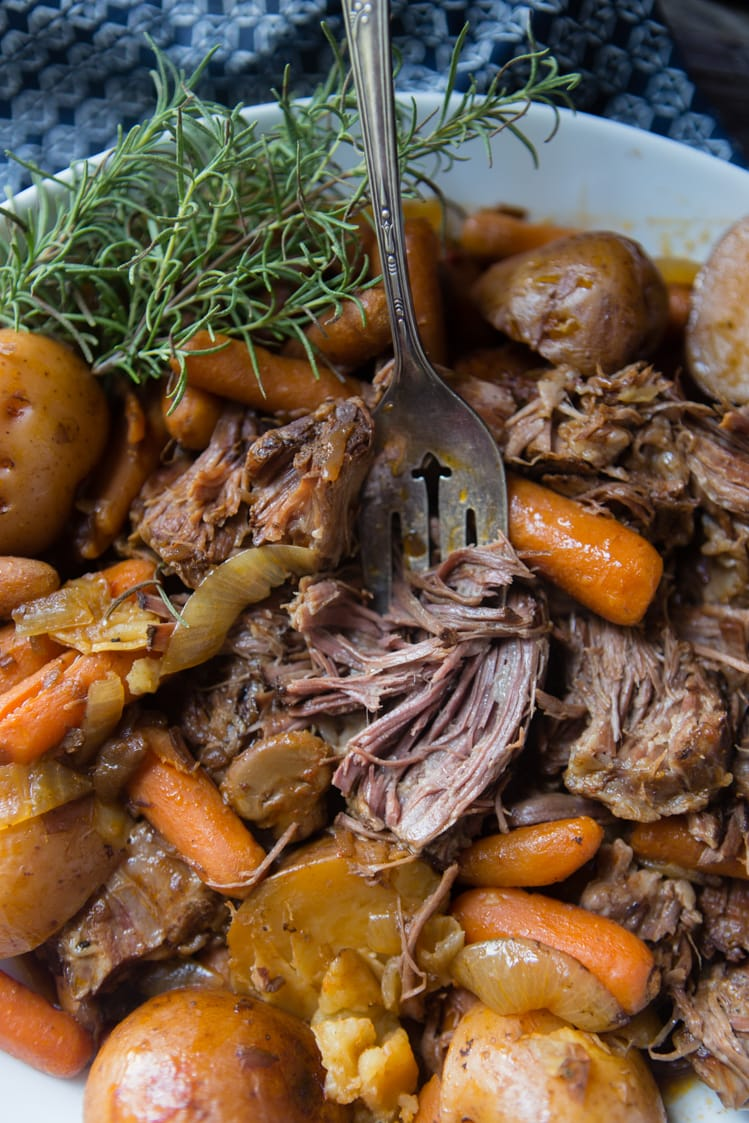 Easy Pot Roast Recipe - A Southern Fairytale