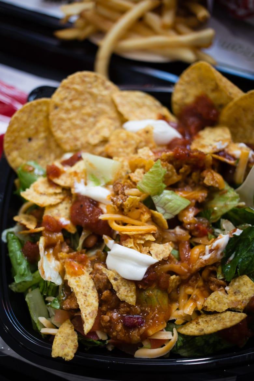 my wendys taco salad