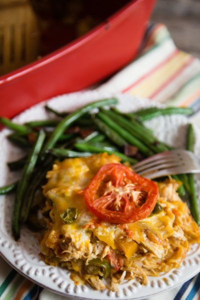 King Ranch Chicken and Green Beans