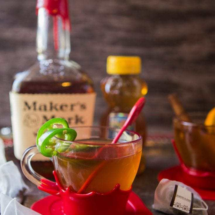 Texas Hot Tea Toddy