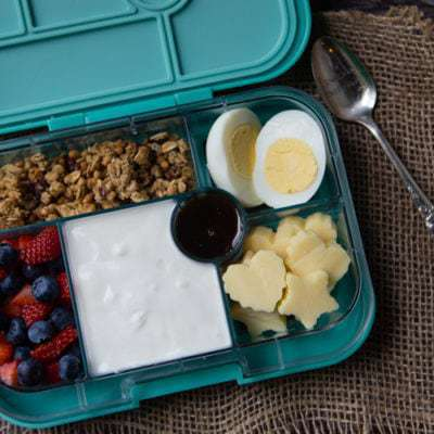 Healthy Morning Breakfast Bento Box