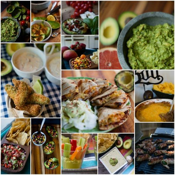 appetizer recipes with avocados