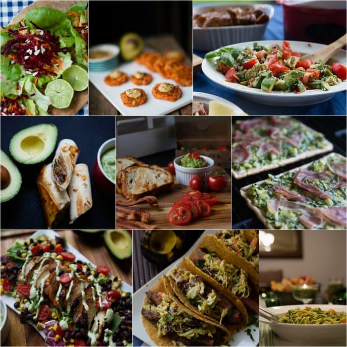 dinner recipes with avocados