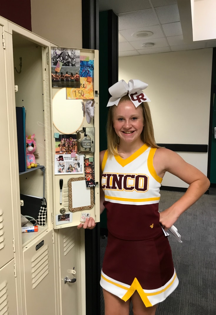 junior high locker decorating
