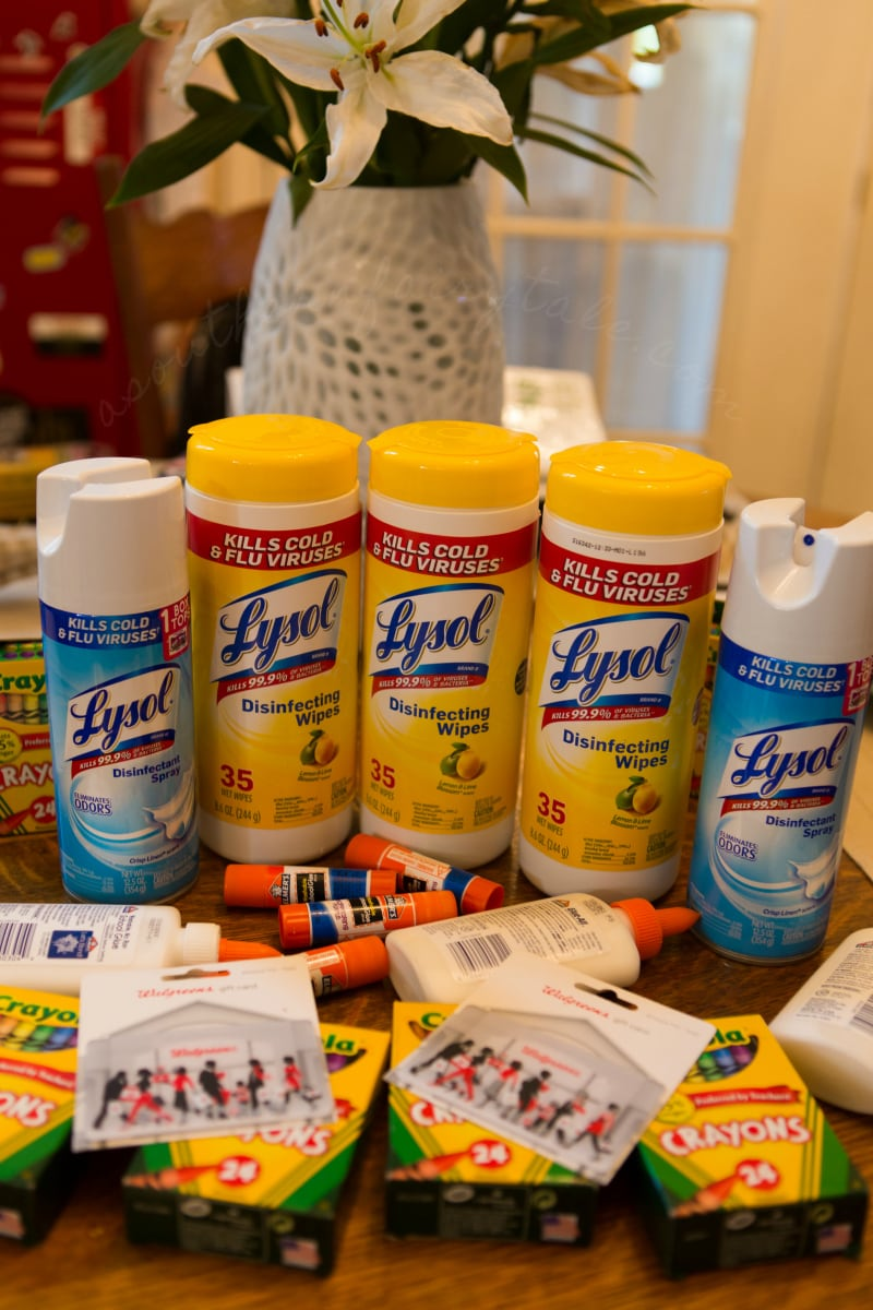 lysol back to school for teachers