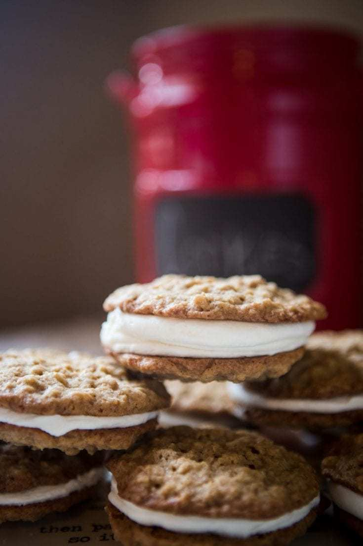 double stuff oatmeal cream pies
