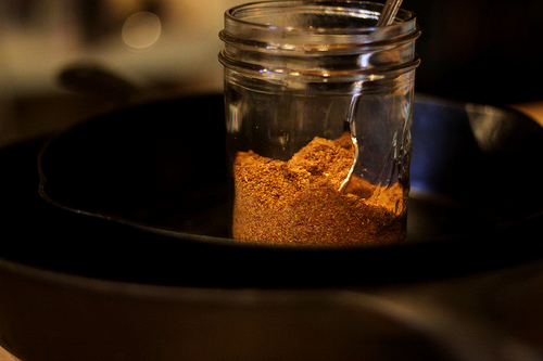 mason jar taco seasoning