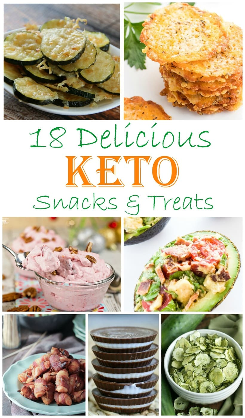 18 Delicious Keto Friendly Snacks and Treats