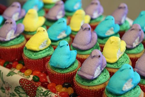 easter peepcakes 2