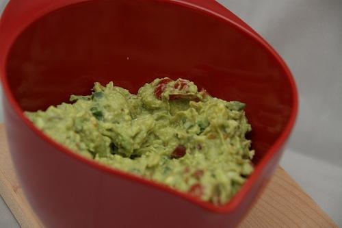 guacamole mixing