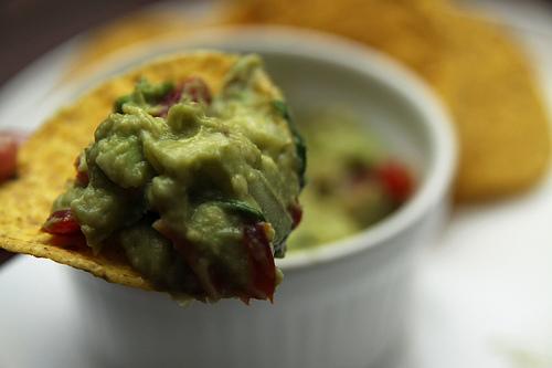guacamole bite
