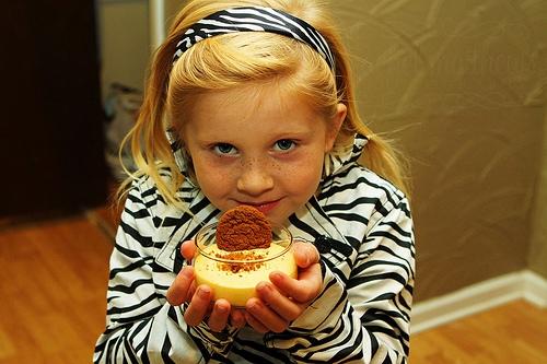 Princess with Pudding