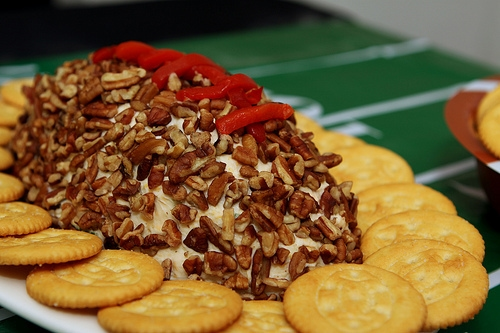 football cheeseball whole