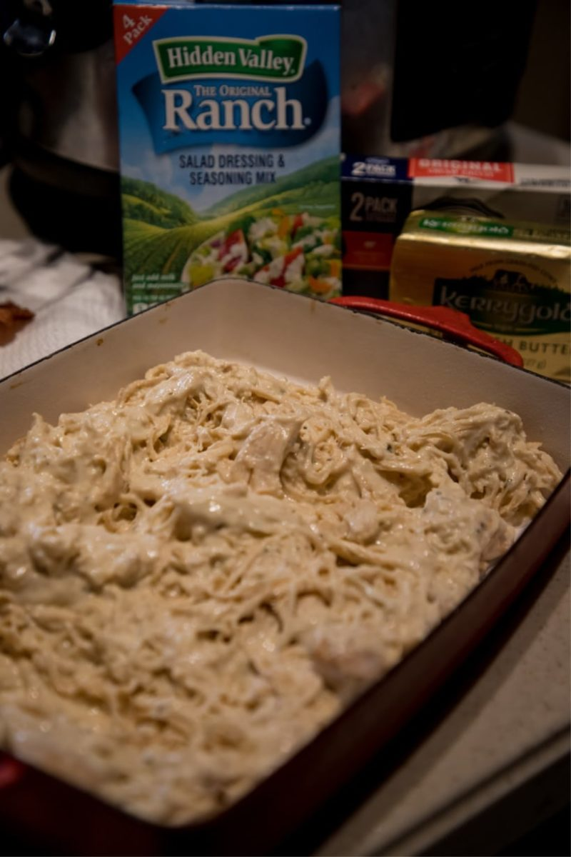 keto ranch chicken
