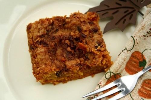 Pumpkin Crunch Cake {Southern Pumpkin Dump Cake}