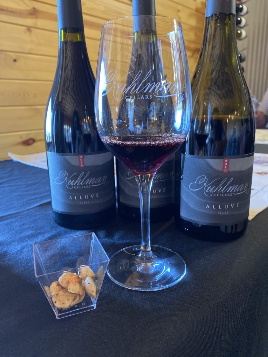 kuhlman cellars almonds and wine